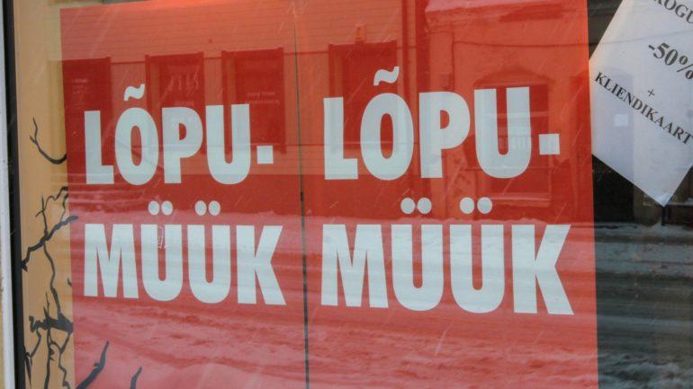 6beff8f7bbe Legendaarne Tallinna pood paneb pärast 30 tegutsemisaastat uksed kinni